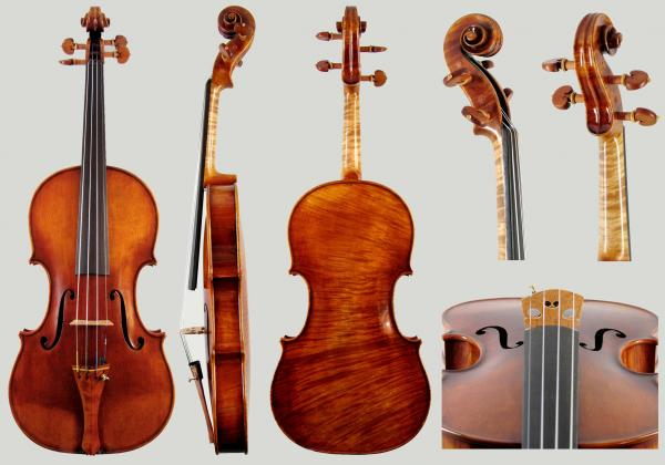 Oh, Wow! Stunningly gorgeous violin with magnificent tone