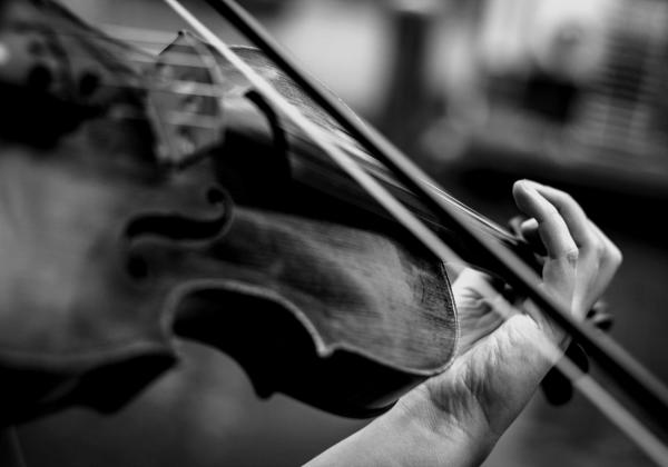 Amazing passion for the violin and helping people
