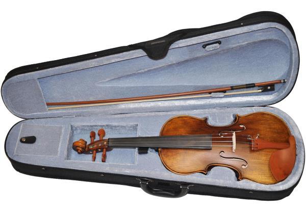 I'm advancing thanks to this violin