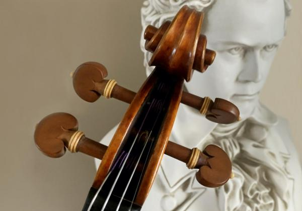 I couldn't have found my dream violin without Rhiannon