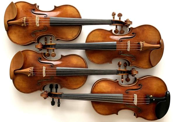 Best sounding violins I've ever had the pleasure to play