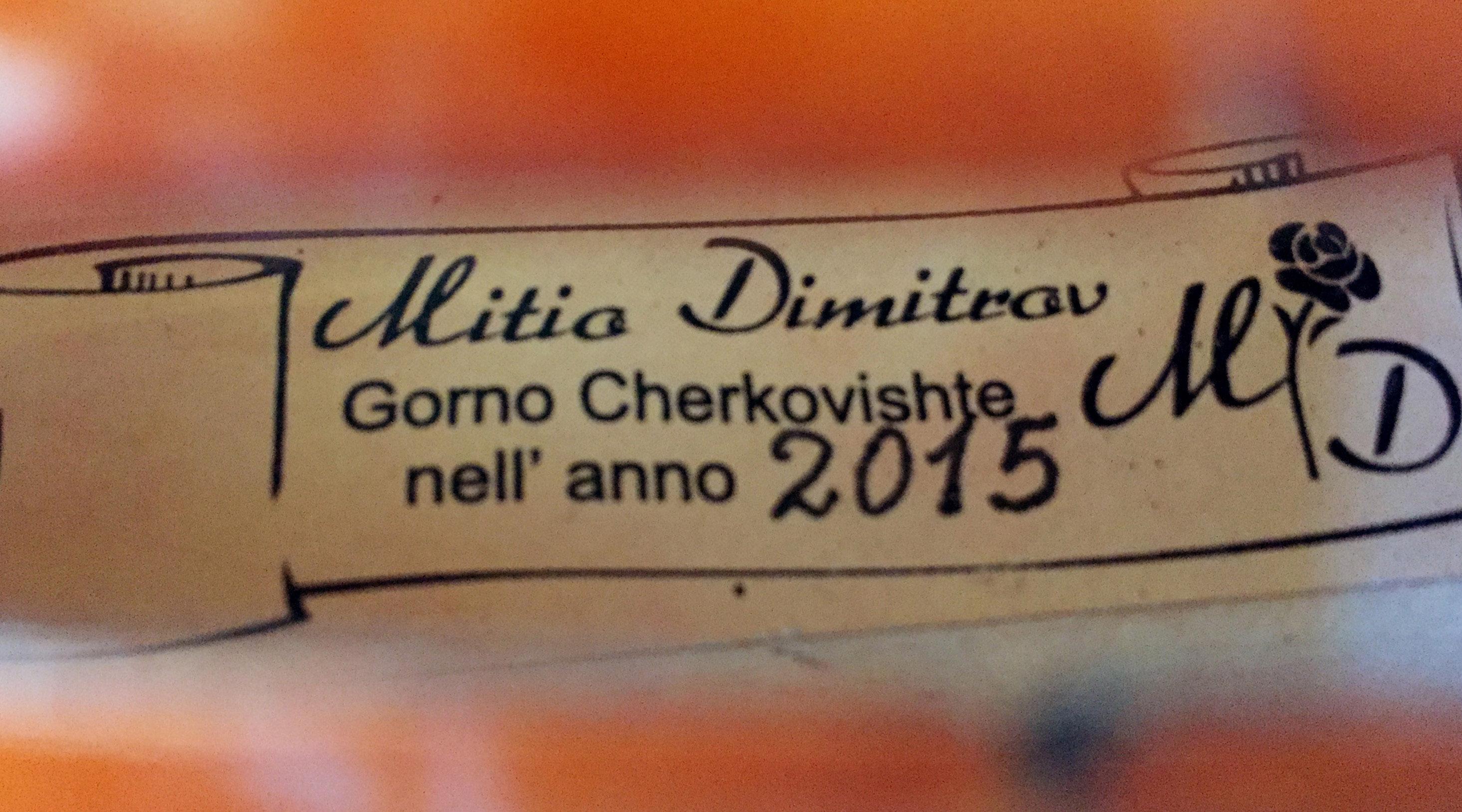 Mitio Dimitrov Violins