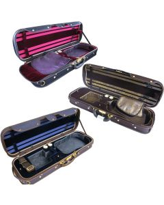 Cases: Fiddleheads Silk-Lined Deluxe Suspension Oblong in 3 Colours