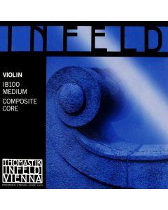 Strings: Complete Set - Infeld Blue - Violin 4/4 - 7/8 - 3/4