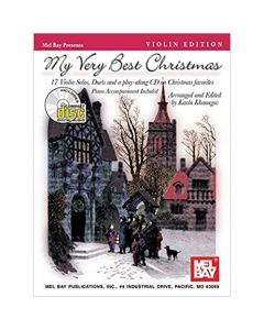 Book: My Very Best Christmas (Violin) - With Play Along CD, Duet Parts & Piano Accompaniment