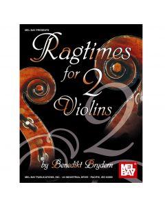 Book: Ragtimes for 2 Violins by Benedikt Bryden