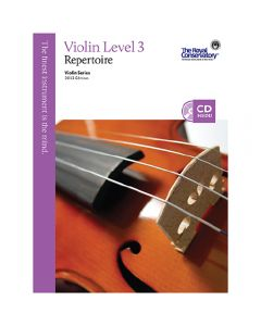 Book: Royal Conservatory Music - Violin Repertoire Level 3 - 2013 Edition with CD