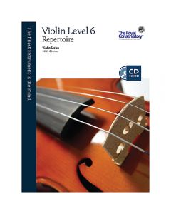 Book: Royal Conservatory Music - Violin Repertoire Level 6 - 2013 Edition with CD