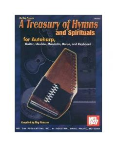 Book: A Treasury of Hymns and Spirituals (Lyrics and Chords Only)