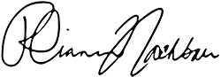 Rhiannon Nachbaur public signature